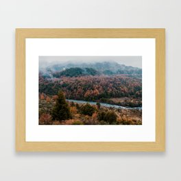 Patagonia Autumn Colors Framed Art Print