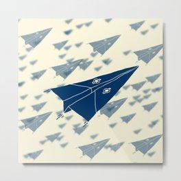 Paper Airplane 11 Metal Print