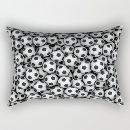 Soccer balls Rectangular Pillow