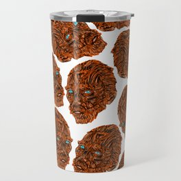 Orange Van Gogh Travel Mug