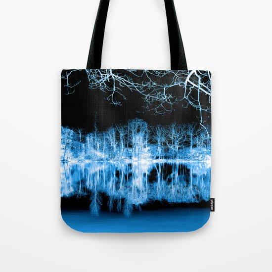 Lake Nights Reflections Tote Bag