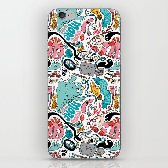 More, More, More iPhone & iPod Skin