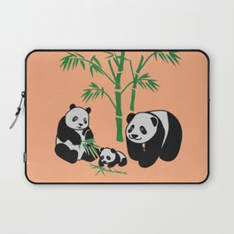 panda family Laptop Sleeve
