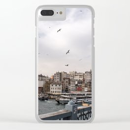 The Bridge to Karaköy Clear iPhone Case