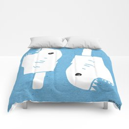 Organic Fish Scream Comforters