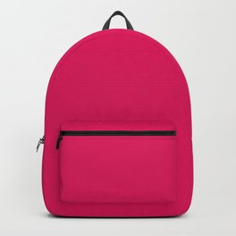 color ruby Backpack
