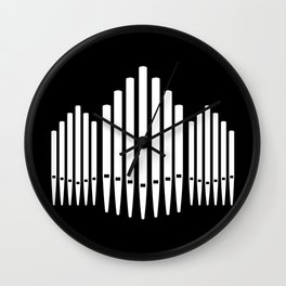 Pipe Organ Wall Clock