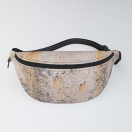 Abstract textures in old metal Fanny Pack