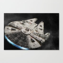 Flight of the Falcon Canvas Print