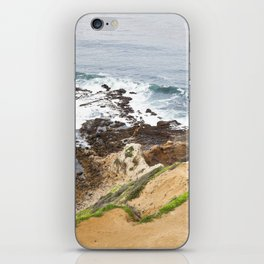 The Pacific Coast Along PVE, CA iPhone Skin