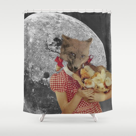 Counting chickens Shower Curtain