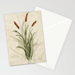 cattails 2 Stationery Cards