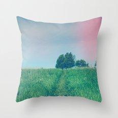 Bohemian Summer Throw Pillow