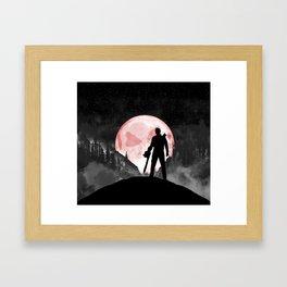 Rudeboy Ash Framed Art Print