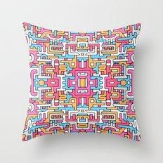 Sacred Patterns Throw Pillow