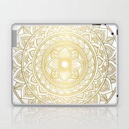 Gold Bali Mandala Laptop & iPad Skin