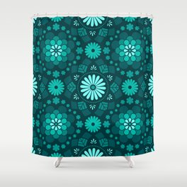 Lord Ethel in blue Shower Curtain