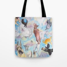 It's Raining! . . . . Tote Bag