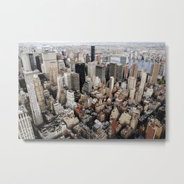 Empire State View 2. Metal Print