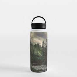 Pacific Northwest River - Nature Photography Water Bottle