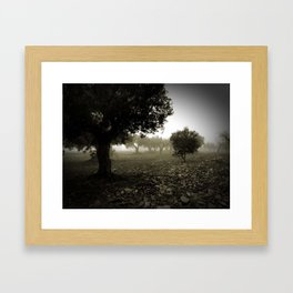 Les Forques Framed Art Print