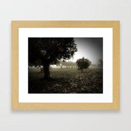 Les Forques Framed Art Print