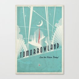 Tomorrowland Promotional Poster Canvas Print