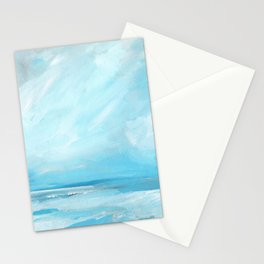 Resurgence - Stormy Ocean Seascape Stationery Cards