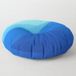 Hunter Mountain Spring Floor Pillow