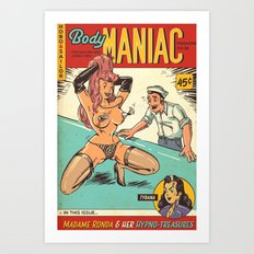 Hobo and Sailor. Body Maniac Art Print