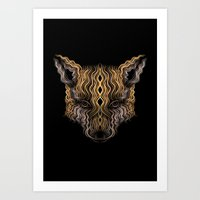 Fox II Art Print