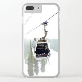 Whistler Blackcomb Clear iPhone Case