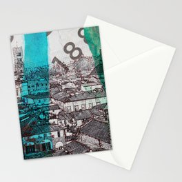 Lucca  roofs Stationery Cards