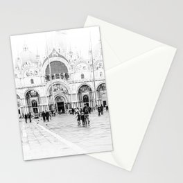 Piazza San Marco, Venice (Italy) Stationery Cards