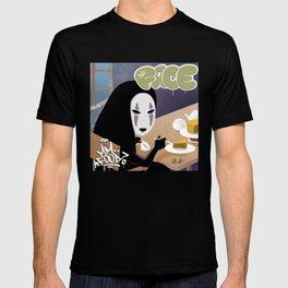 No Face Mm.. Food (MF Doom + Spirited Away) T-shirt