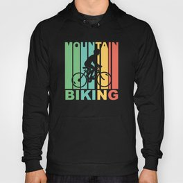 Vintage 1970's Style Mountain Biking Graphic Hoody