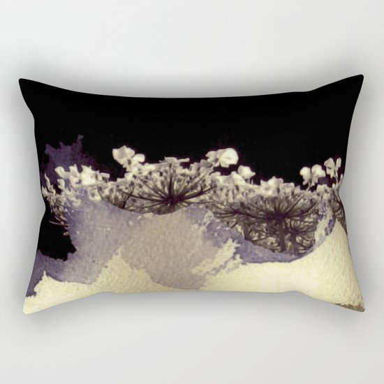 emergent umbellifer Rectangular Pillow