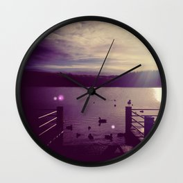 Herrington Park 1 Wall Clock