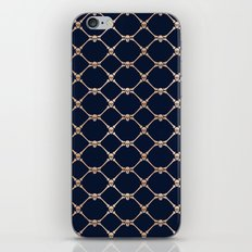 Skulls & Bones Diamond Pattern iPhone & iPod Skin