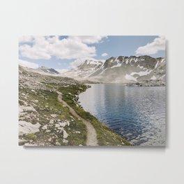 High Sierra Lake Metal Print