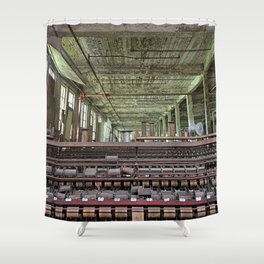 Abandoned Lonaconing Silk Mill Shower Curtain