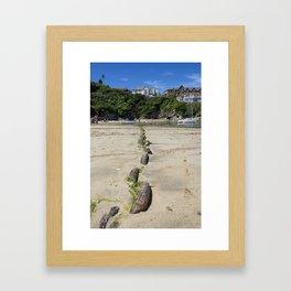 Newquay chain Framed Art Print