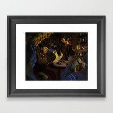 Pirate Cavern Framed Art Print