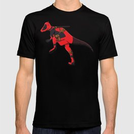Deadpachycepoolosaurus - Superhero Dinosaurs Series T-shirt