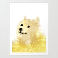 doge Art Prints featuring Doge by EtOfficina
