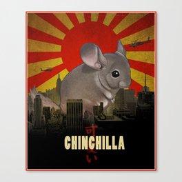 Chinchilla Kaiju Canvas Print