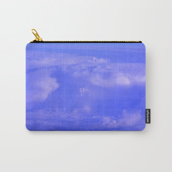 Aerial Blue Hues IV Carry-All Pouch