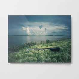 Summer on a village 3 Metal Print