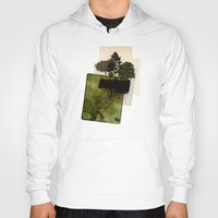 island Hoodies featuring ISLAND by oppositevision