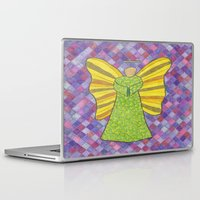 military Laptop & iPad Skins featuring Military Angel by GT6673
